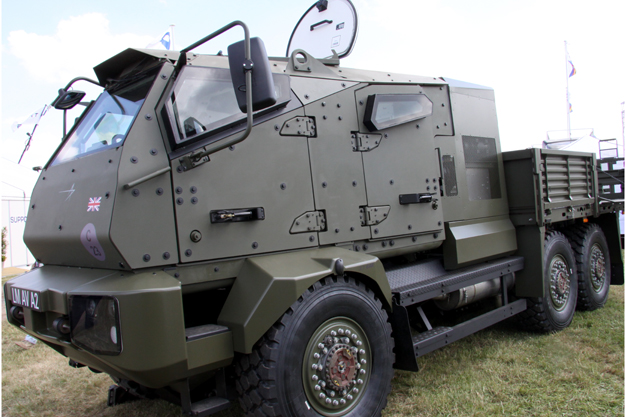 Military Communication Control Vehicle